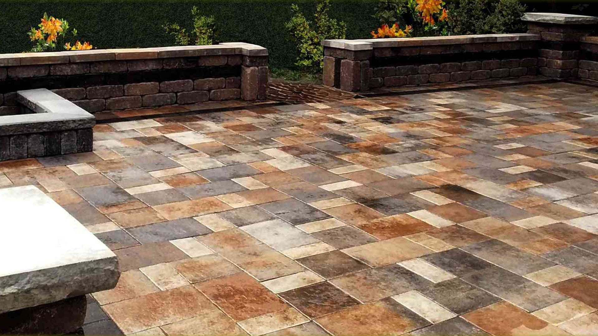 All Type Landscape Retaining Walls, Drainage and Pavers slide 2